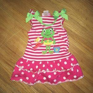 Other - Cute summer frog dress
